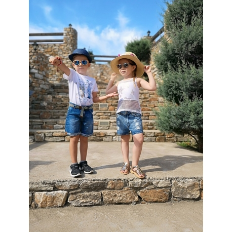 3a69633b0eb Βερμούδα τζιν με ζωνάκι Mayoral - Ηλιαχτίδα Kids - Παιδικά Είδη