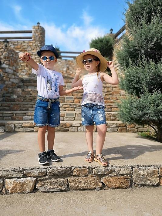38f80fa7619 Σορτσάκι τζιν TRAX - Ηλιαχτίδα Kids - Παιδικά Είδη