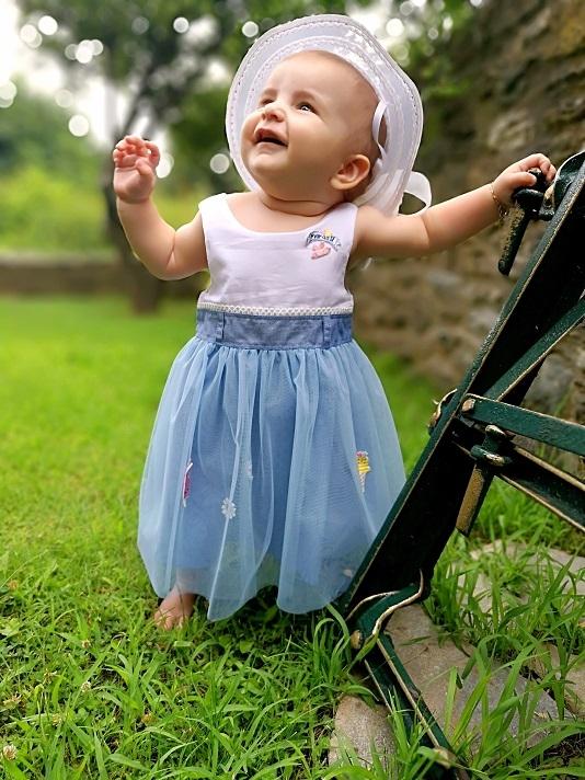 ad58e39d226 Μπεμπέ φόρεμα MARASIL - κορίτσι - Ηλιαχτίδα Kids - Παιδικά Είδη